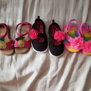 Other - Size 4 toddler shoe bundle